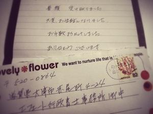 相続人からの手紙
