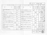 通信簿−小学1年