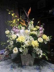 131120_お客様から頂いた供花