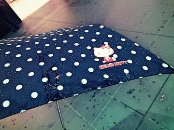 キティちゃんの折りたたみ傘