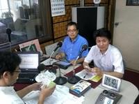 120813_KBS京都ラジオ出演